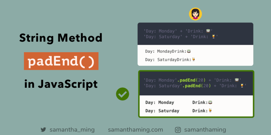 Code Tidbit by SamanthaMing.com
