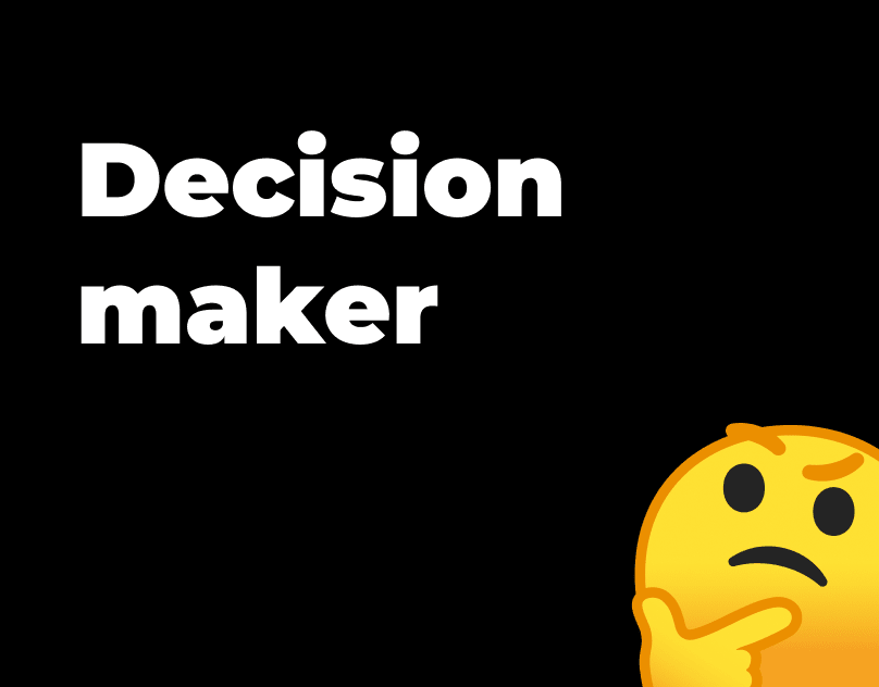 Yes or No decision maker
