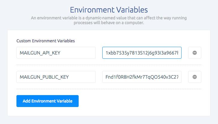 environment-variables-in-sashido-dashboard