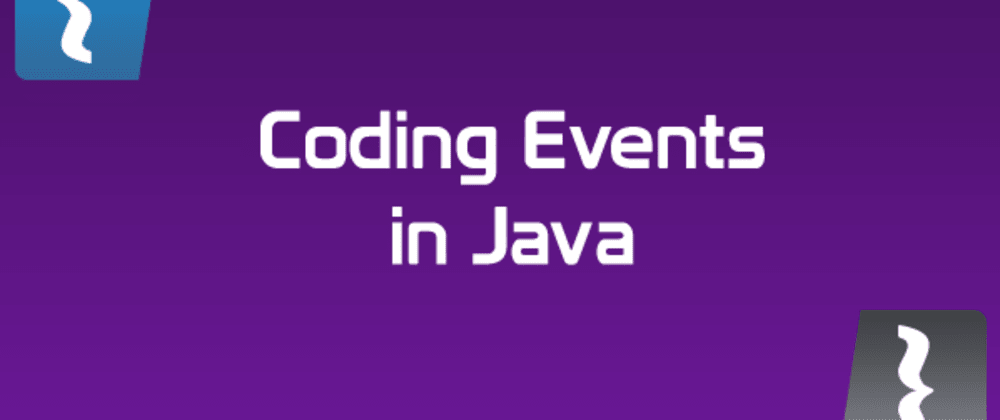 Cover image for Designing and Coding Event Management in Java