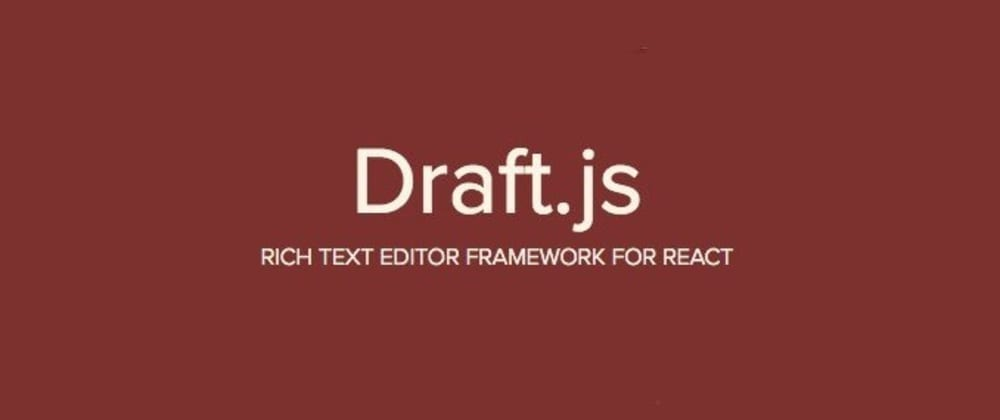 Cover image for How to display Draft.js content as HTML
