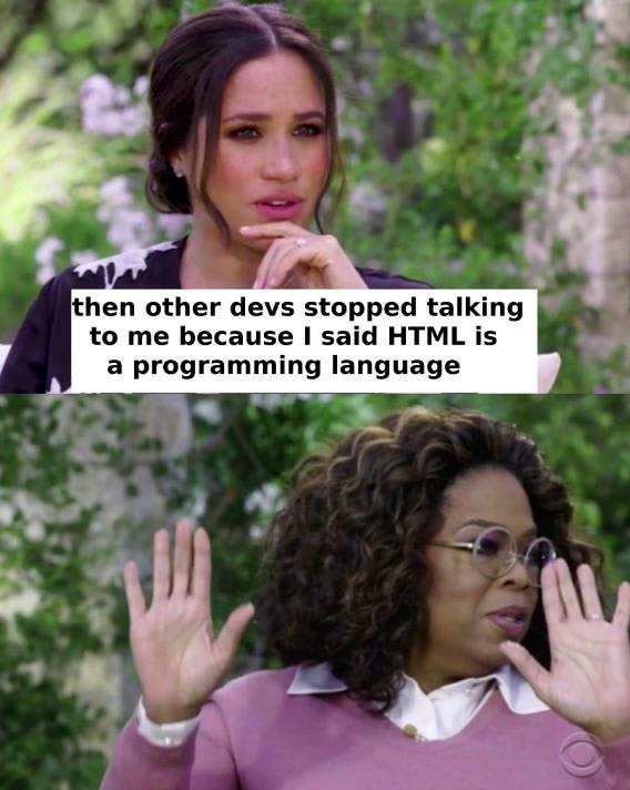 HTML meme