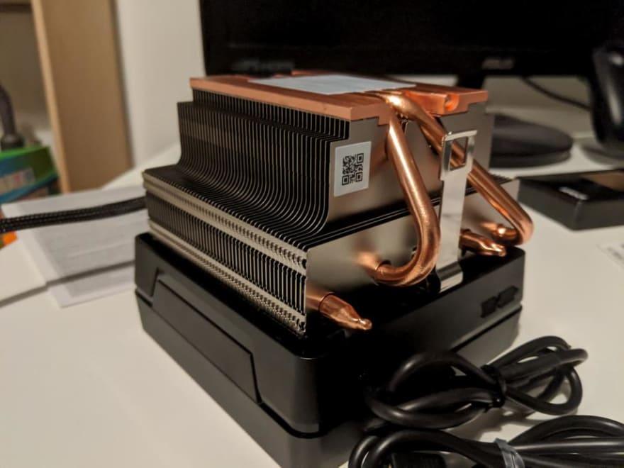 Ryzen 7 3800X cooler