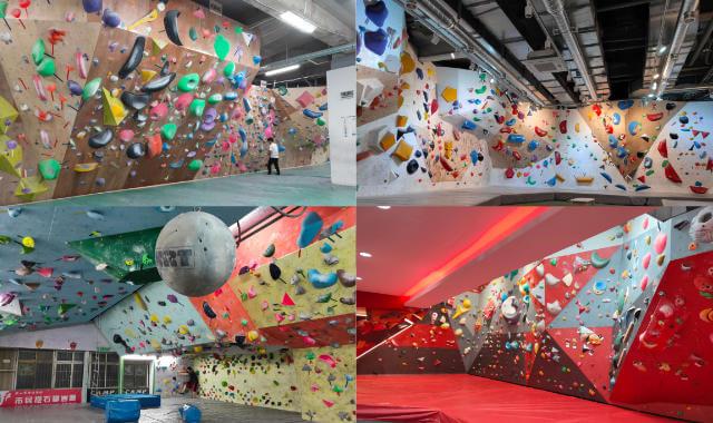 Climbing gyms in Tokyo, Seoul, Taipei and Bangkok