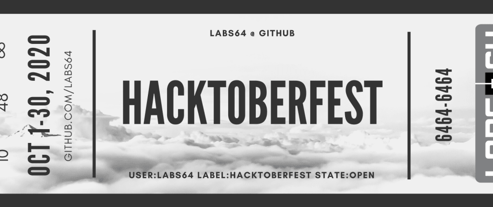 Cover image for Hacktoberfest @ Labs64