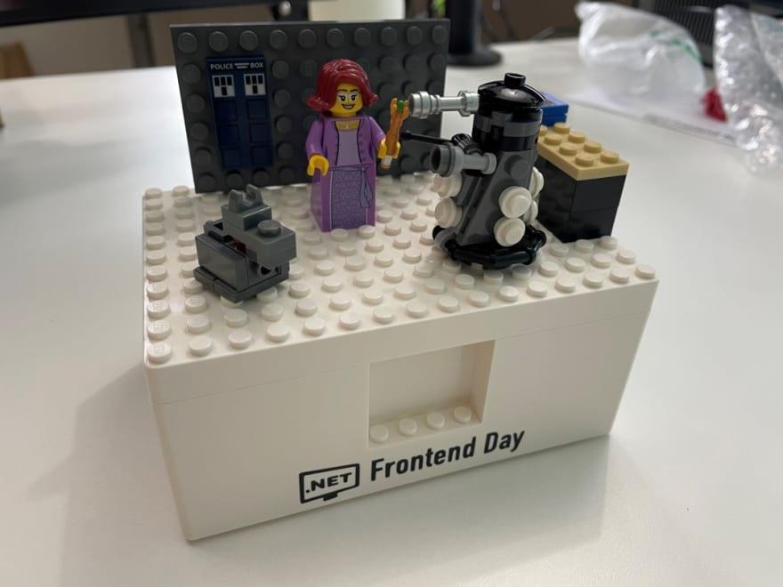 Personalised Doctor Who Lego Set