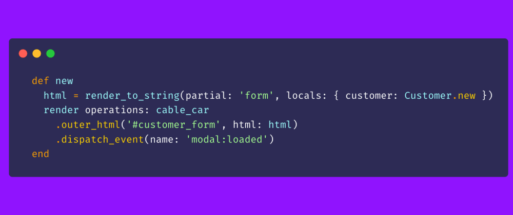Cover image for Server-rendered modal forms with Ruby on Rails, CableReady, Mrujs, Stimulus, and Tailwind
