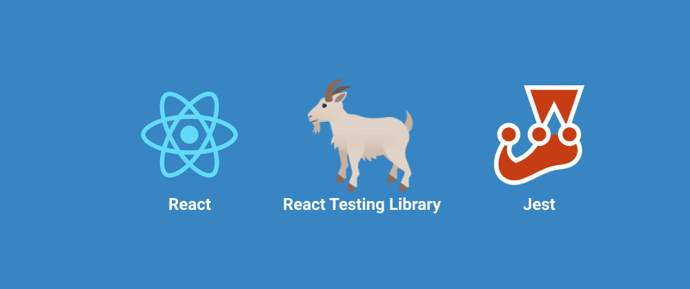 Cover image for 8 simple steps to start testing React Apps using React Testing Library and Jest