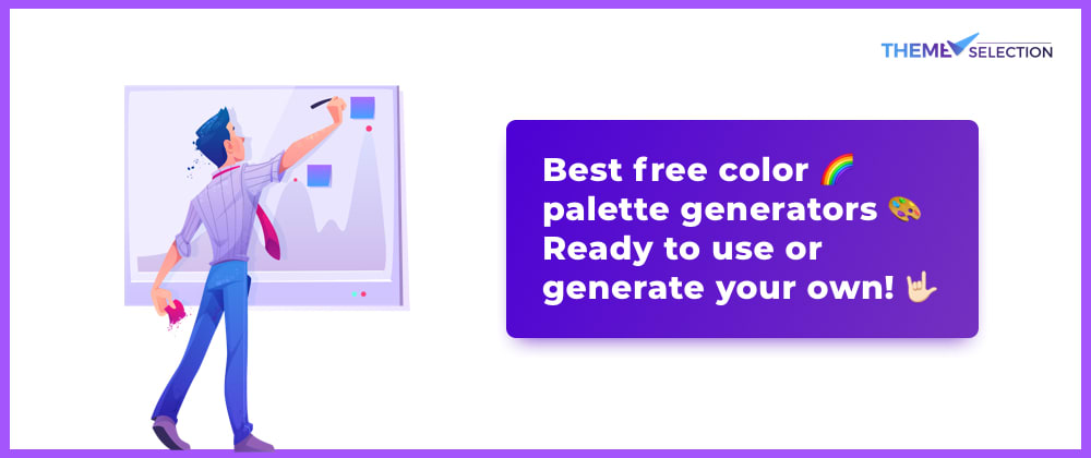 Cover image for Best free color 🌈 palette generator 🎨- Ready to use or generate your own!🤘