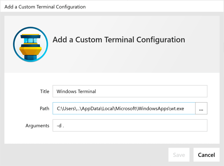 Configure Tower to use the new Windows Terminal