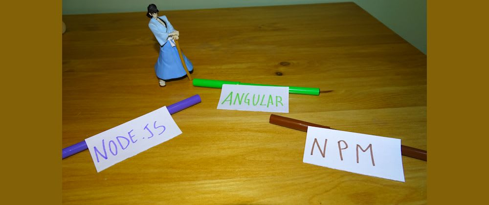 Cover image for Angular vs NPM vs Node.js