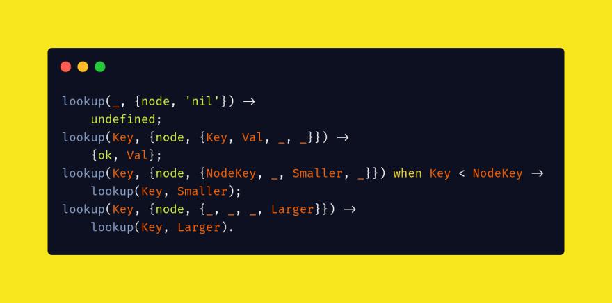 Lookup function to retrieve value from binary tree