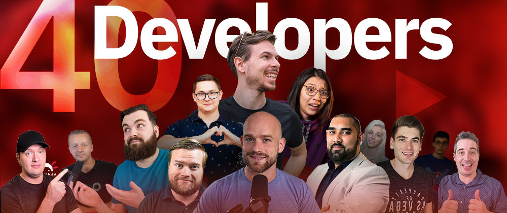 Cover image for 40 Amazing Developers You Should Follow On Youtube