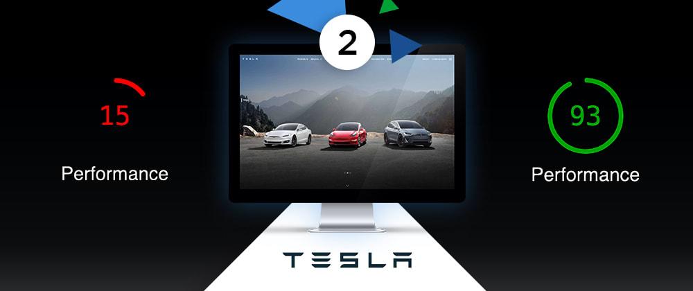 Cover image for Speeding Up Tesla.com - Part 2: Main CSS Splitting