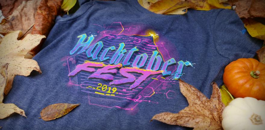 Hacktoberfest 2019 t-shirt