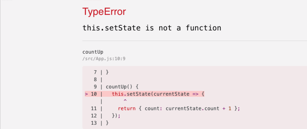 Cover image for React - setState is not a function