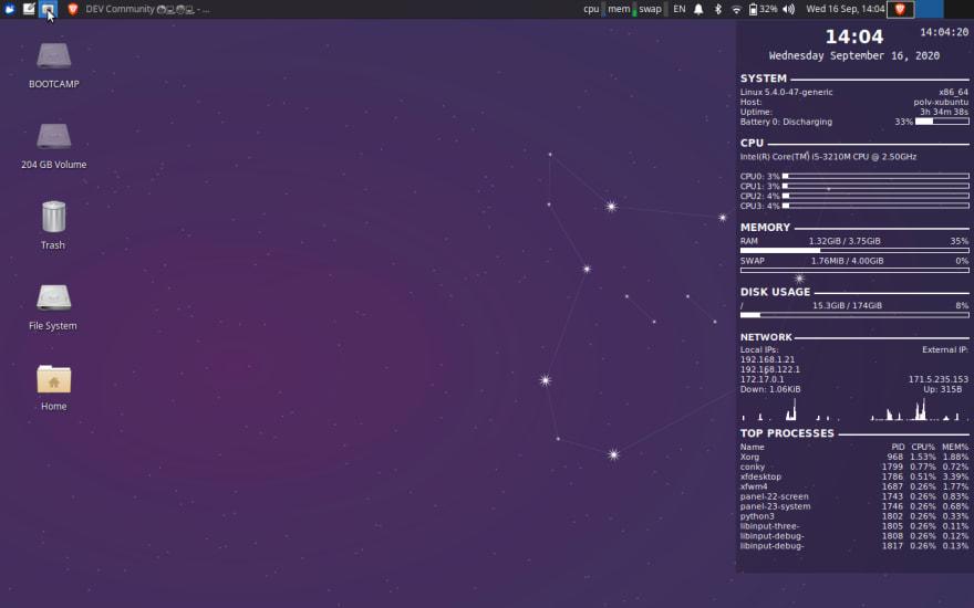 My Xubuntu