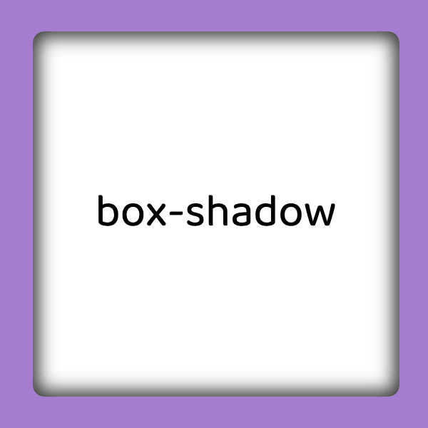 inset box-shadow