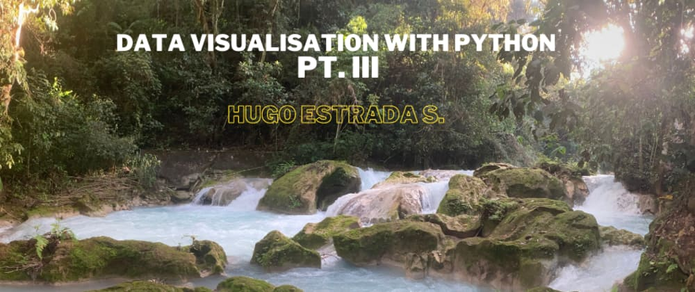 Cover image for Data Visualization with Python pt. iii