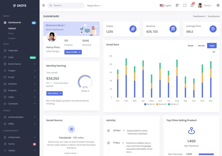 skote-react-admin-dashboard-template