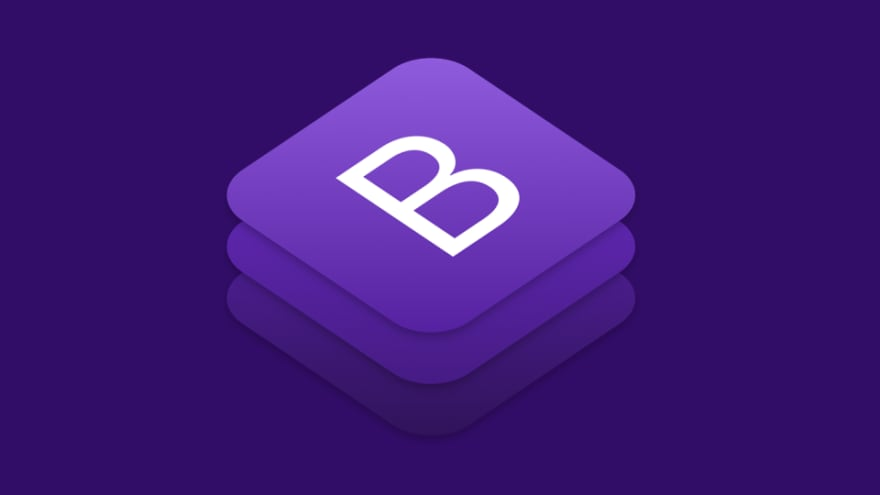 A banner containing Bootstrap logo