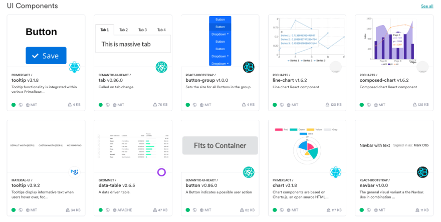bit.dev — Create a component catalog for everyone to share