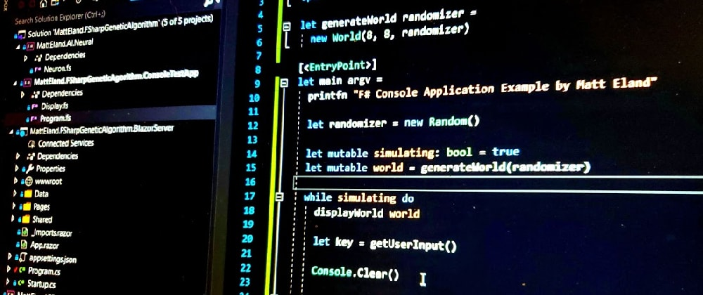 Cover image for Creating a .NET Core 3.0 F# Console App