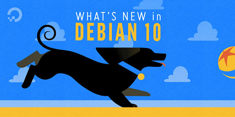 """What's New in Debian 10"" banner image"