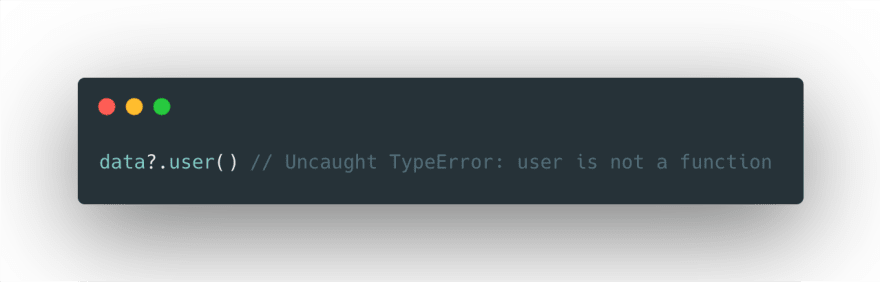 Still need to watch out for Uncaught TypeError not a function