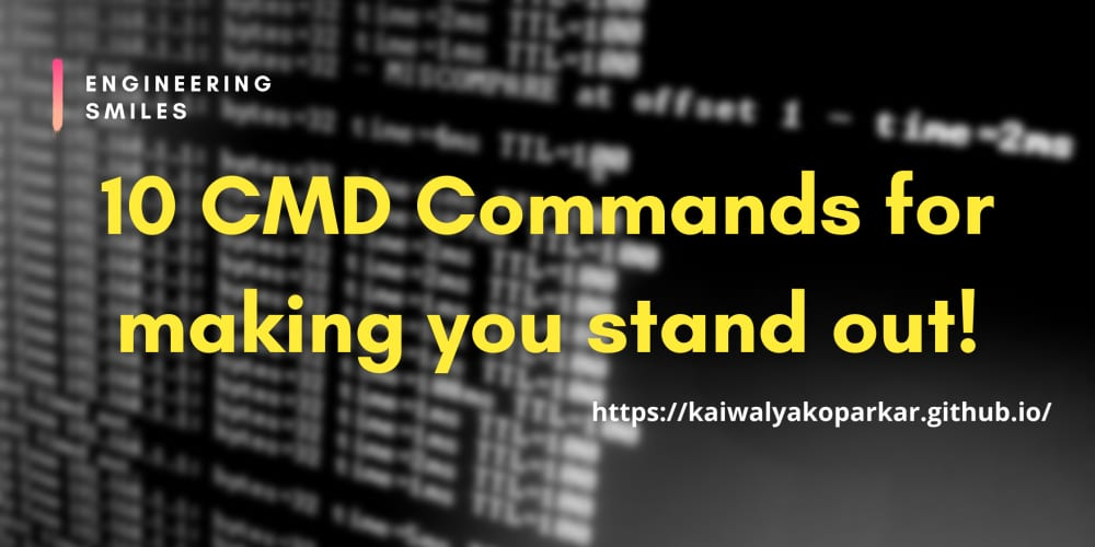 ✨10 CMD Commands to make you stand out!✨
