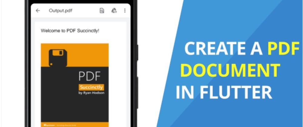 Cover image for Create a PDF Document in Flutter