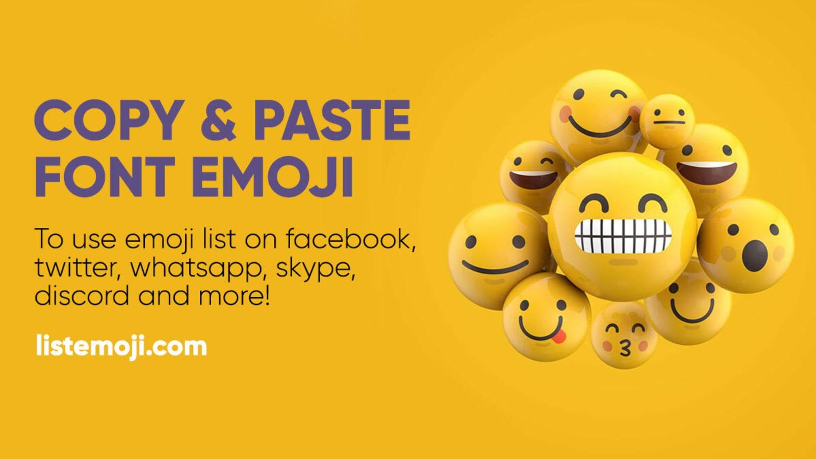 Liste kopieren emoticons zum Kawaii Face