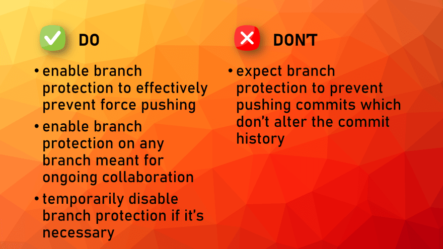 Branch Protection BP