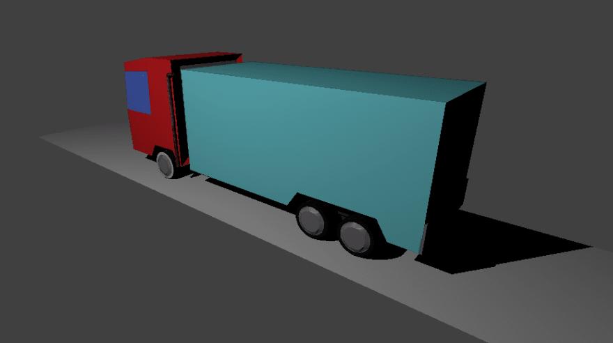 Blender truck
