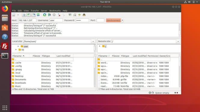 filezilla-ubuntu-18-home