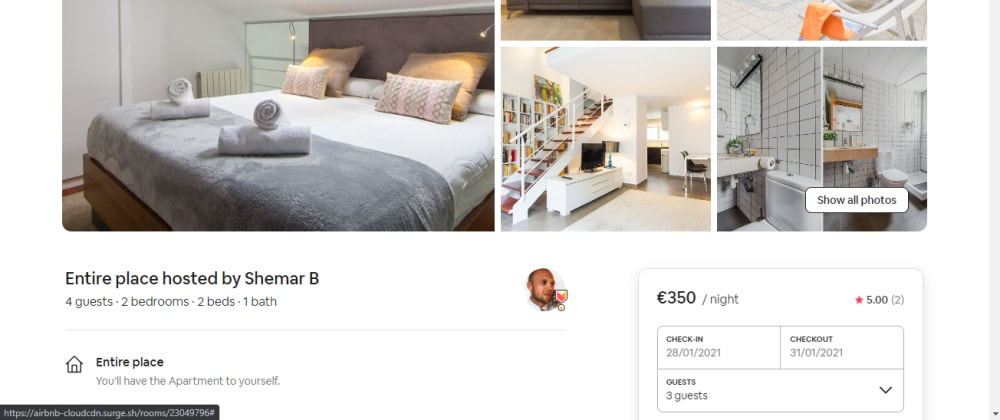 Cover image for Making an Airbnb clone in Vue3 (Desktop + Mobile PWA) + Admin Backend