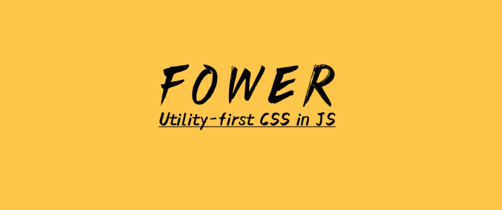 Cover image for Fower v1.0