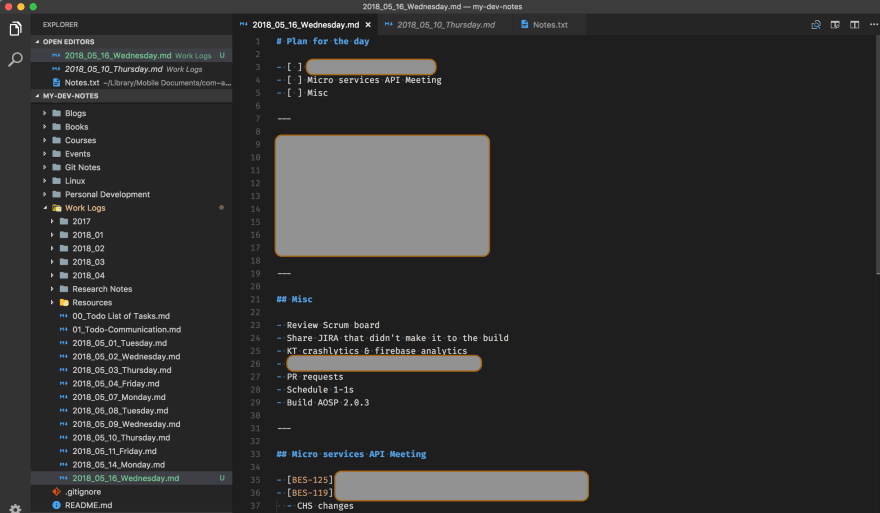 VSCode Screenshot