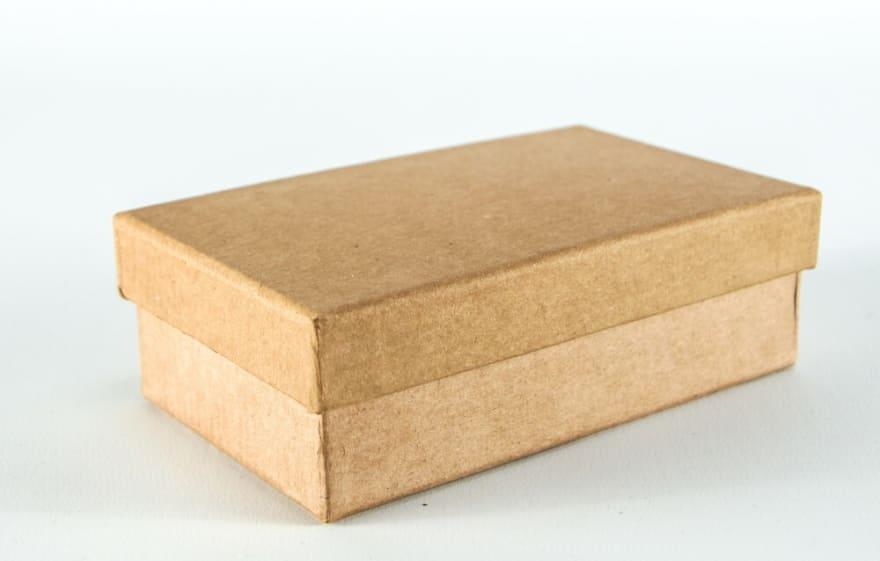 Small cardboard box