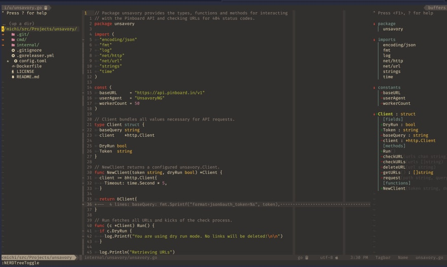 neovim screenshot