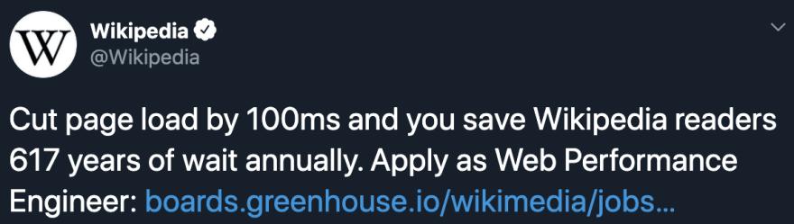 Twitter screen of wiki