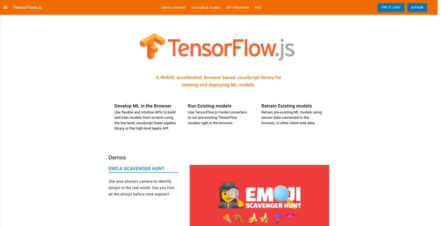 TensorFlow.js