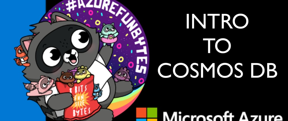 Cover image for AzureFunBytes Reminder - Intro to @AzureCosmosDB with @markjbrown