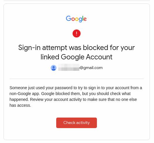 Gmail Notification