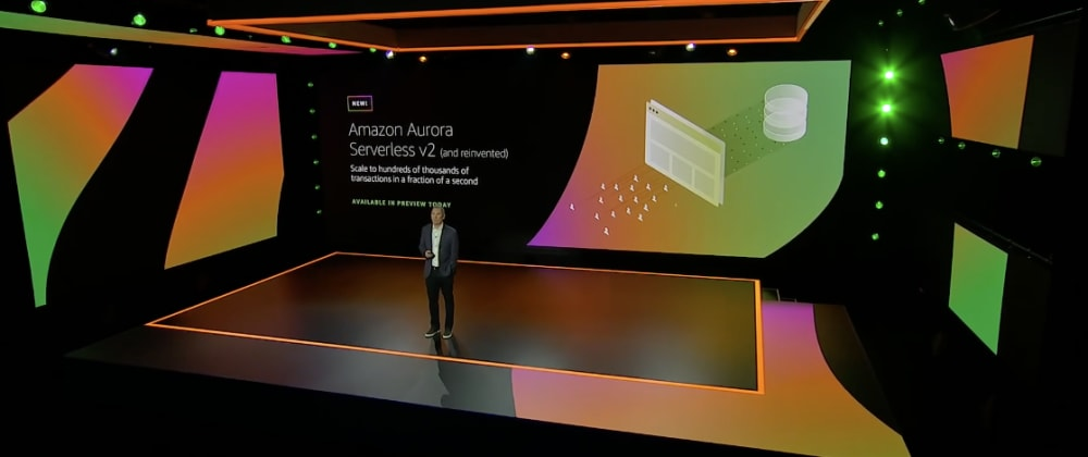 Cover image for Whats New In Data: re:invent Andy Jassy Keynote