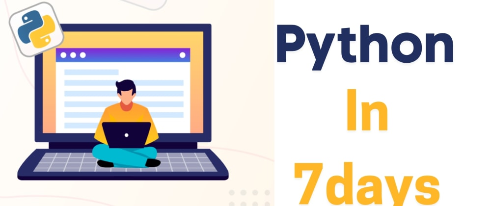 Cover image for Learn Python In 7days Complete Guidelines Zero to Hero