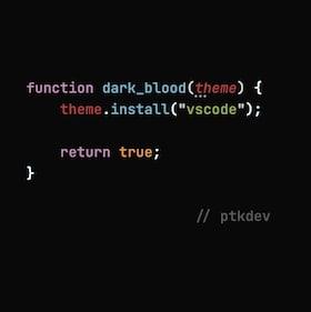 vscode-theme-dark-blood