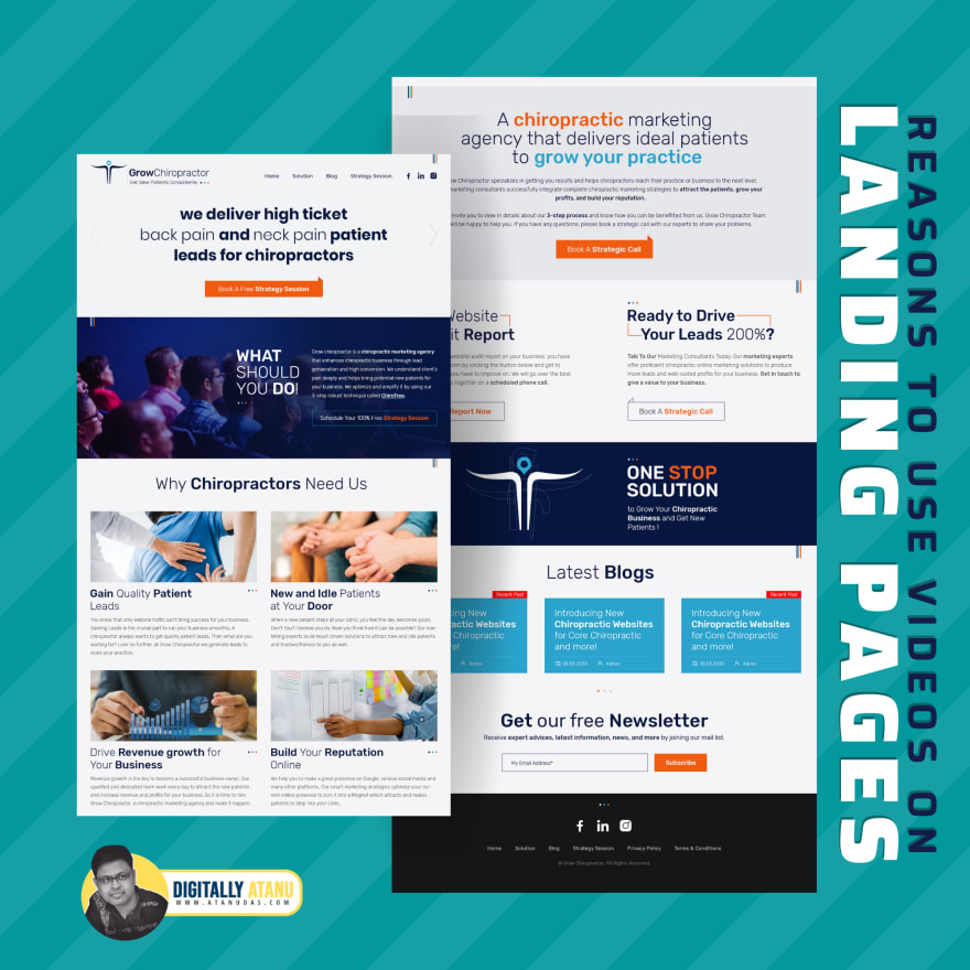 Why We Should Use Videos On Our Landing Pages