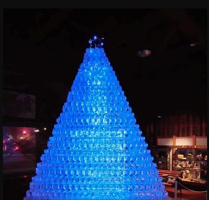 wine tower image