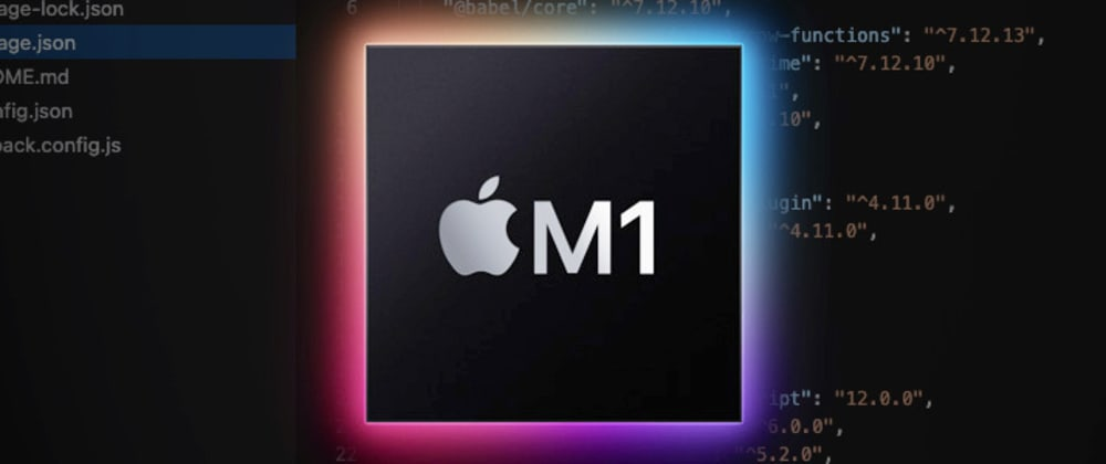 Cover image for Web Development on a 13″ MacBook Pro M1